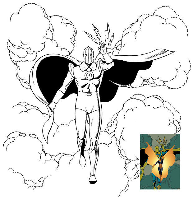JSA All-Stars: Dr. Fate Inks