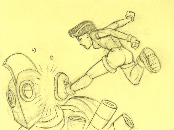 Post-it: Kick!