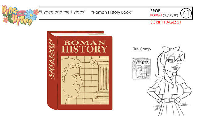 Hydee: Roman History Book ROUGH