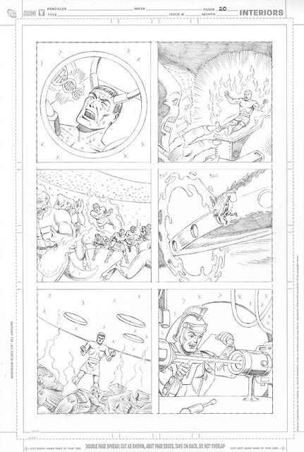 Son of Vulcan Page 20 pencils