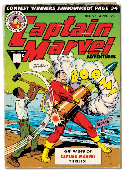 FCA Captain Marvel Adventures #23 Cover Re-creation